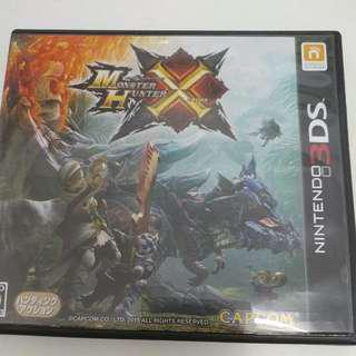 3ds Game Monster Hunter X (日版)