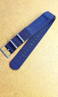 Mint 20mm/20mm Blue Nato Strap