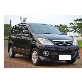 Toyota Avanza S AT 2011 Tangan Pertama Perorangan Hitam Istimewa (Tdp 8Jt)