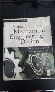 Shigley's Mechanical Engineering Design ME2101/2102 #SpringCleanAndCarouSell50