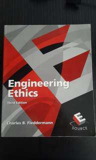 Engineering Ethics 3rd ed #SpringCleanAndCarouSell50