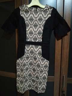 Dress batik bodycon