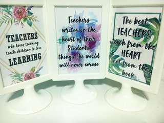 Teacher's Day Gift Frame Design