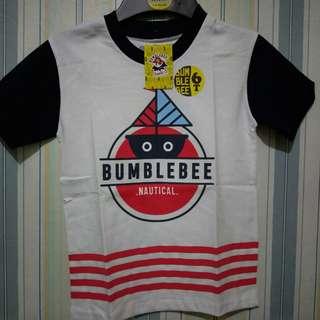 Kaos Anak Laki Premium Bumblebee Sz 6-14T