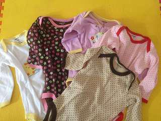 Baju bayi (5 set)