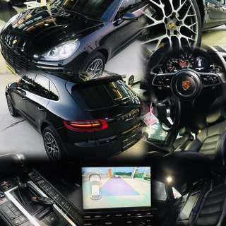 ✨時尚與運動的兼具潮男必備首選✨  2015年#Porsche #Macan_S 3.0cc   #帝王黑 永業 總代理(保固中)