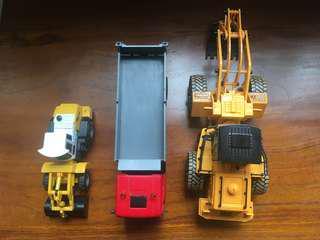Toy trucks 6 inch +