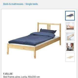 Ikea Single Bed Frame & Slat Base #50under