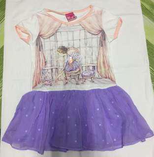 Purple and White Dress 👗
