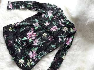Blouse Import Floral ❤