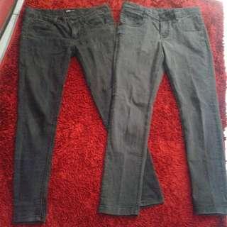 2 celana jeans import