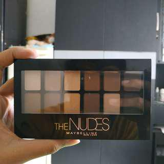 MAYBELLINE THE NUDES EYESHADOW PALETTE #sociollacarousell