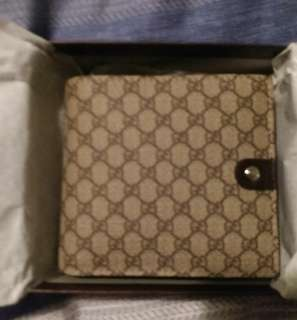 Gucci foldable wallet with coin purse