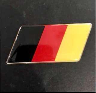 German flag emblem (big)
