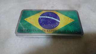🚚 巴西 國旗 書籤
