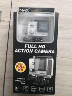 max full hd action camera