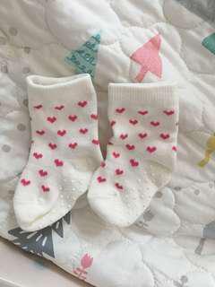 Uniqlo BB襪 9-12cm