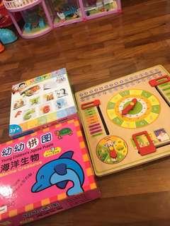 Toy bundle for toddler preschool