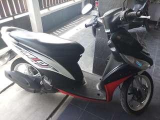 Mio J 2012 plat L Surabaya