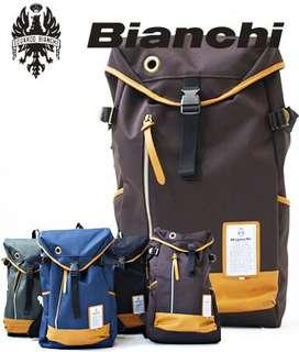 Bianchi啡色背包(日本版)