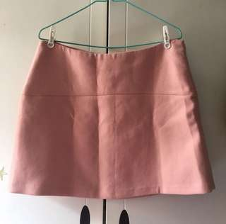 New!!Zara Pink Skirt 粉紅短裙