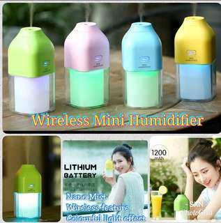Wireless Mini Humidifier