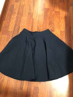 Navy blue skirt