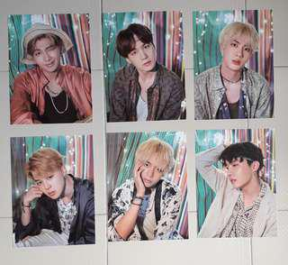 (wts/instock) bts summer package mini posters