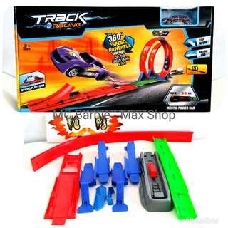 Mainan Track Racing Launch, Loop Win bisa buat Hotwheels 8019