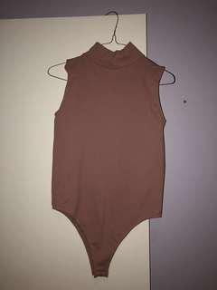 Mirrou Rib Bodysuit (Size L)