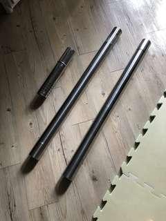 強排熱水器不鏽鋼排氣管(三隻)
