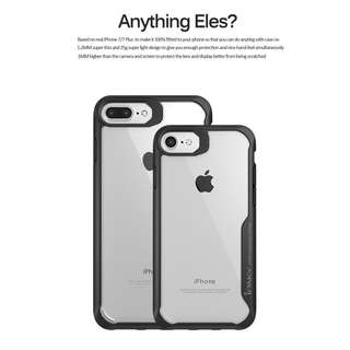 Ipaky case iphone 7+/8+ TPU Bumper Clear Case Casing Cover