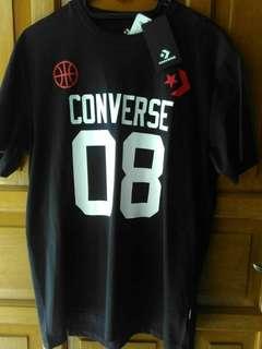 Kaos Converse Sporty for Men Original Black