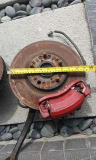 Disc caliber brake