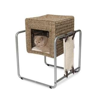 Vesper Cat Furniture V-Cube Seaweed