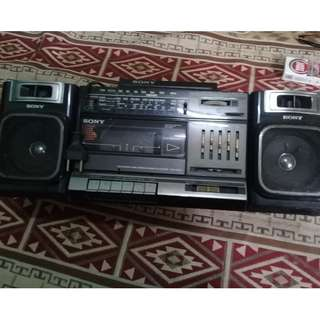 radio tape sony cfs 1000s jadul vintage