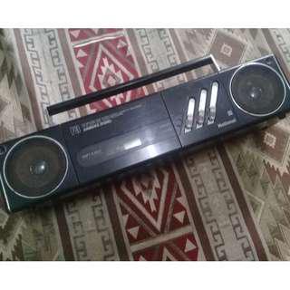 radio tape boombox jadul vintage