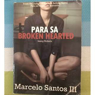 Book - Para sa Broken Hearted by Marcelo Santos III