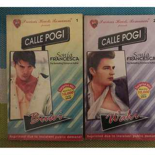 Pocketbook - Precious Hearts Romances (PHR) - Calle Pogi Series by Sonia Francesca and Keene Alicante