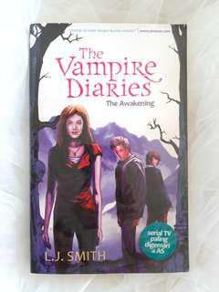 """The Vampire Diaries"" Novel by L.J. Smith"