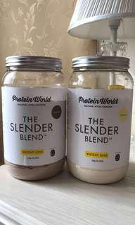 The Slender Blend by Protein World 1kg