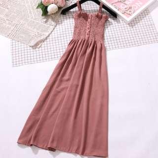 🚚 Nude Pink Dress (BN)
