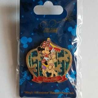 Disney Minnie Pin 迪士尼「獎賞行」奇妙處處通 米妮 徽章