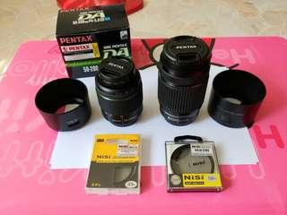 Used Pentax DA and DAL lenses