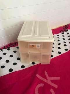 家居用品 雙層 櫃桶式 儲物盒 收藏箱 貯物箱