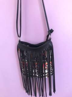 CLAIRE'S TRIBAL SLING BAG