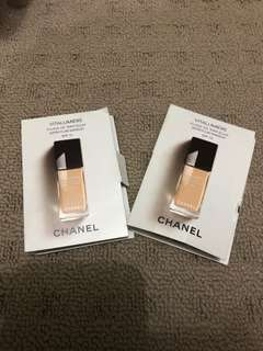 CHANEL FOUNDATION SAMPLES CLAIR