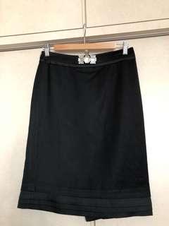 Korea Black Skirt