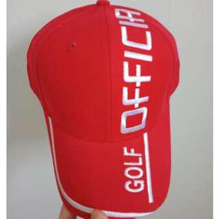 Brand new golfing caps - curved visor