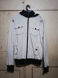 White Jacket with Hood